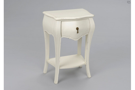 TABLE DE CHEVET MURIANE BLANC