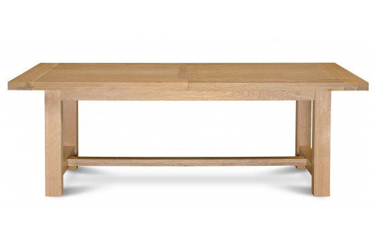 Table salle a manger extensible 10 convives hellin - Table extensible chene ...