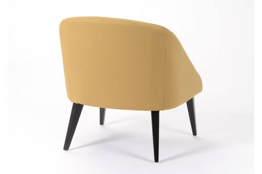 Fauteuil Inter moutarde