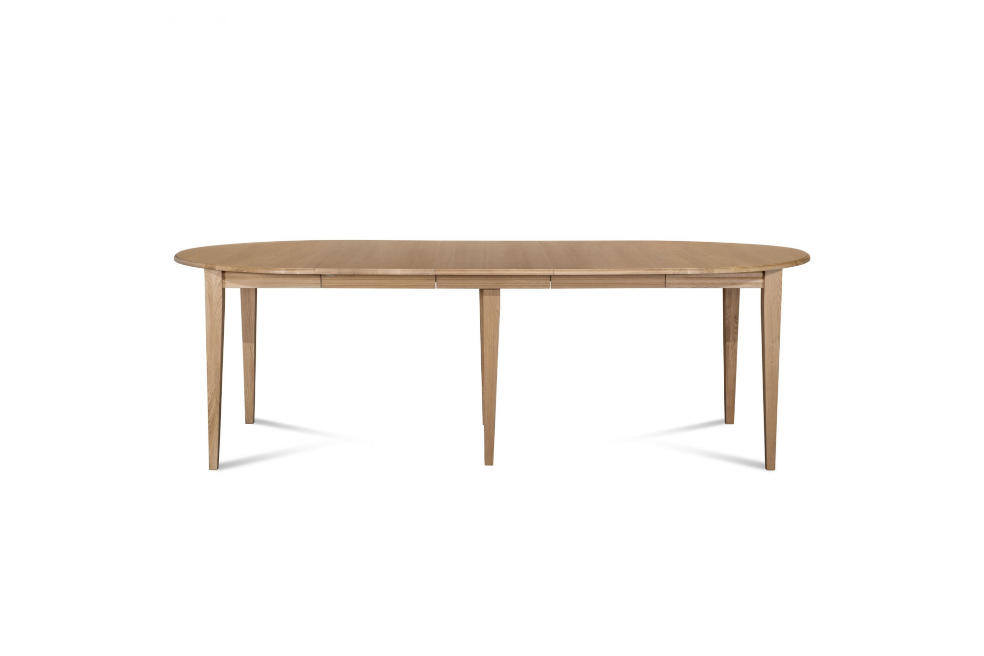 table ronde 6 pieds fuseau ch ne massif hellin. Black Bedroom Furniture Sets. Home Design Ideas