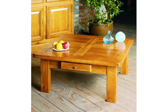 Table basse carrée La Bresse