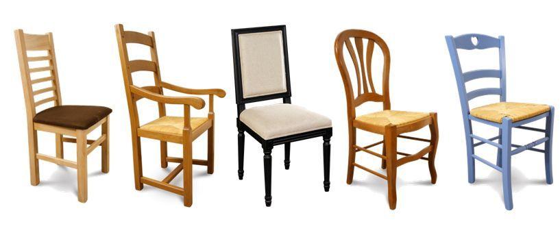La chaise de salle a manger confortable et design